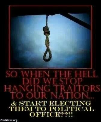 Image result for hanging a traitor