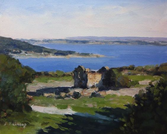 ARTFINDER: Shed the edge of the Mediterranean Sea by Pascal Giroud - An interesting composition with this old abandoned shed overlooking the Mediterranean Sea. The contrast between the evening lights with deep blue sea give de...