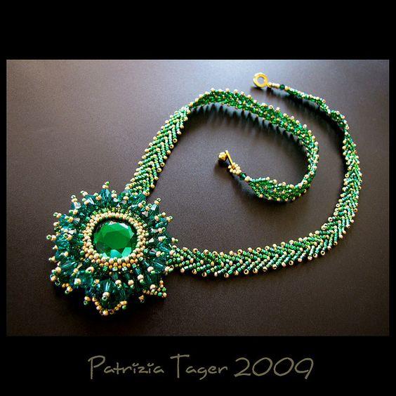 Emerald Queen - Necklace | by Triz Designs