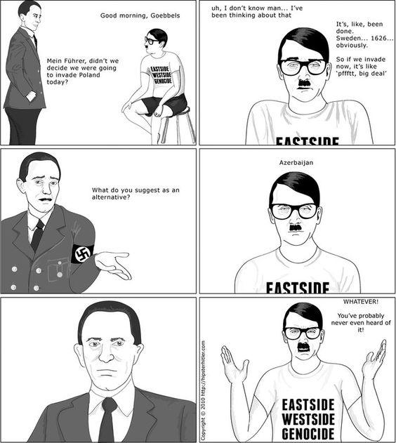 Hipster Hitler :)