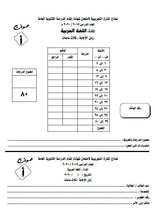 Pin On 202 اللغة العربية الصف الثالث الثانوى
