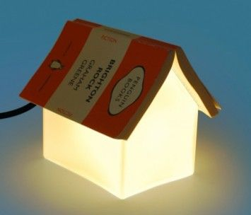The perfect bedside lamp! From Suck UK.