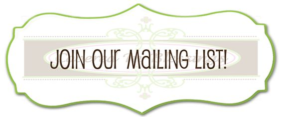 Join our mailing list! We will be good to you, we promise. http ...