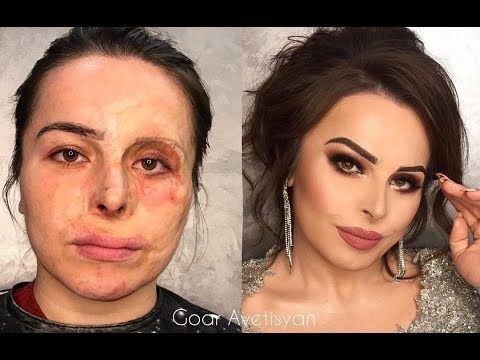 Check Out Why She Is The Best Makeup Artist Makeup Transformation Gold Makeup Looks Rose Gold Makeup Looks