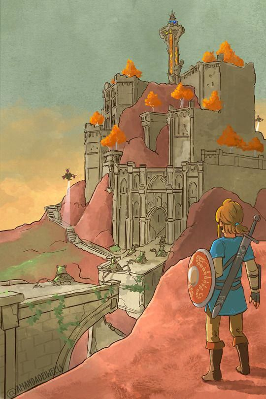 Art By Da Imaginarium Nintendoaesthetic Legend Of Zelda