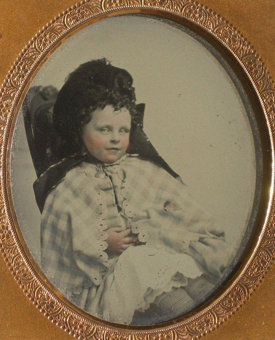 Ambrotype Mischievous Child | eBay