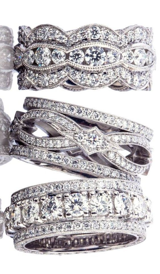 Band Wedding Bands And Right Hand Rings On Pinterest