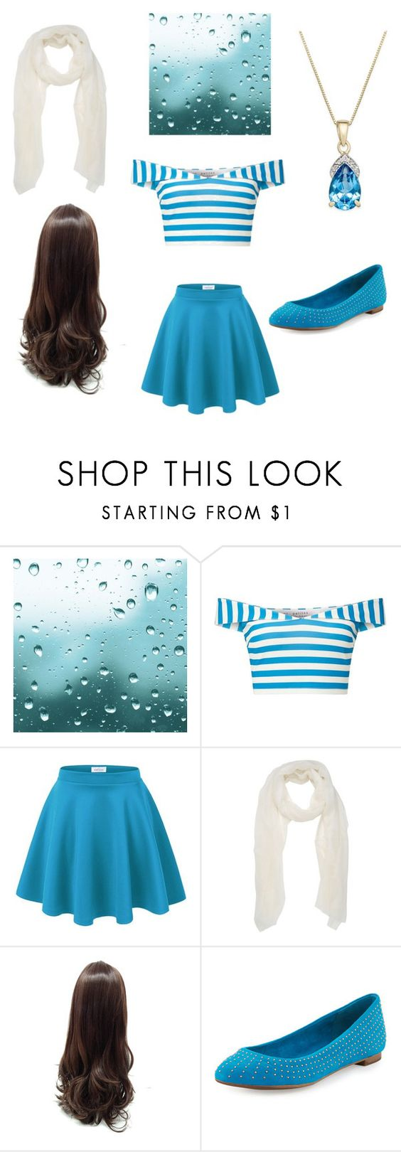 """Sailor Girl"" by ejacox ❤ liked on Polyvore featuring Miss Selfridge and Splendid"