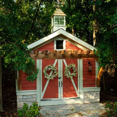 Sheds Shed guest houses and Storage sheds on Pinterest