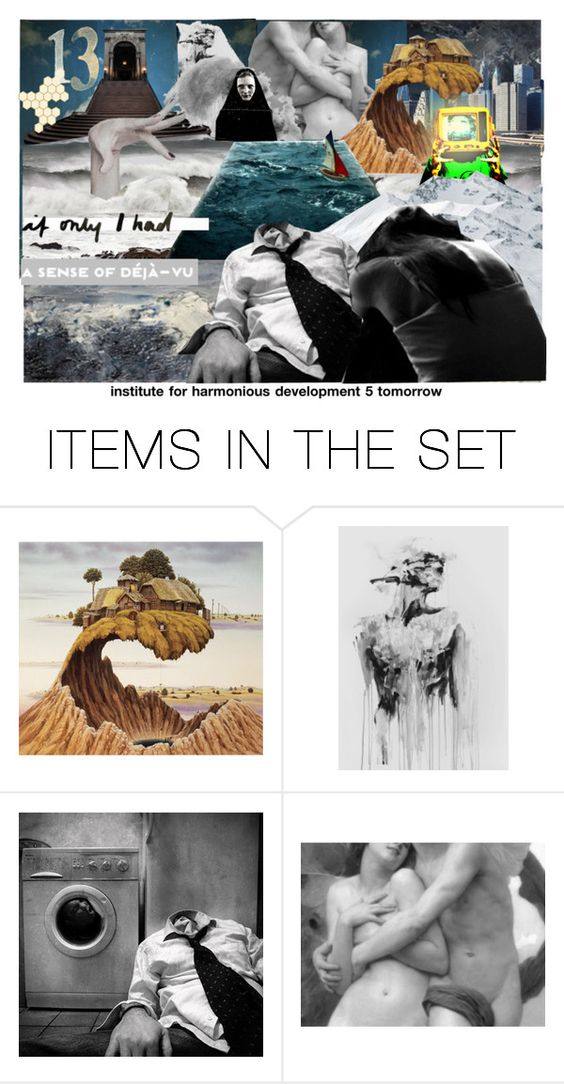 """Powers of Two and Three"" by isteely ❤ liked on Polyvore featuring art"