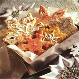 Snowflake cookies, Snowflakes and Cookies on Pinterest