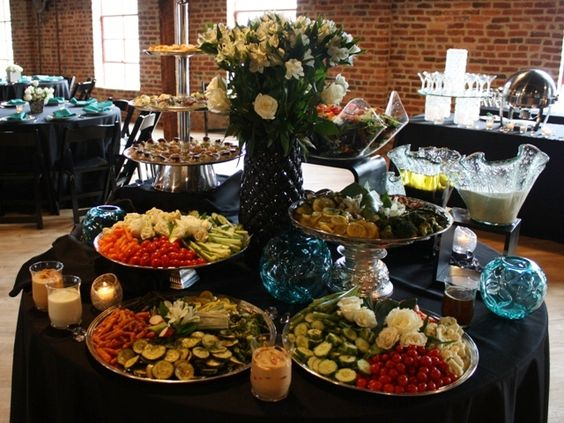 Receptions Food Displays And Prime Time On Pinterest: Down South Delights Answers Our