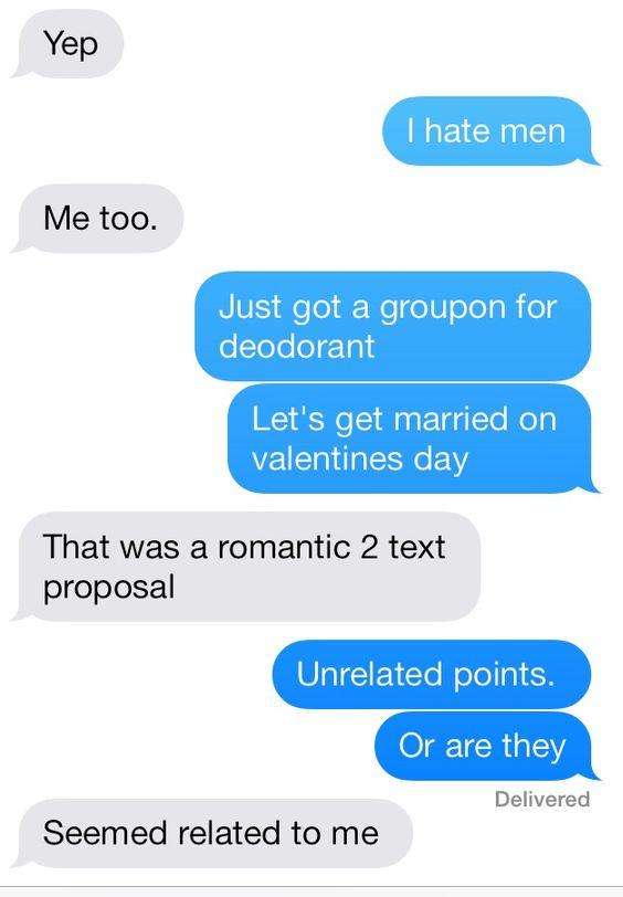 Proposal between best friends
