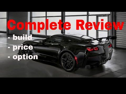 2019 Corvette Zr1 In Depth Review Follow Along As I Build Price
