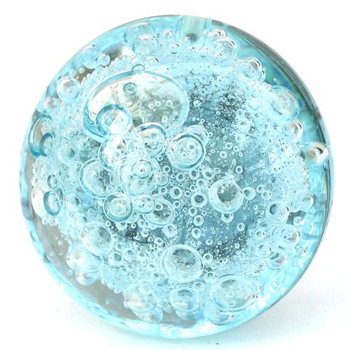 Bubble Glass Kitchen Cabinet Doors: Glass Knobs, Knobs And Aqua On Pinterest