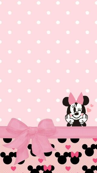 Mice minnie mouse and wallpapers on pinterest - Minnie mouse wallpaper pinterest ...