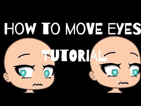 How To Move Eyes Ibispaint X Cutecut Gacha Life Tutorial Phone Youtube Moving Backgrounds How To Shade Tutorial