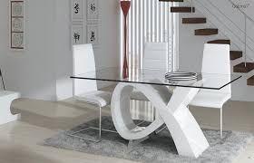Resultado de imagen para mesas de comedor modernas de cristal