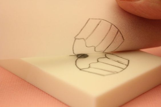 How to make a rubber stamp from any printed image!!