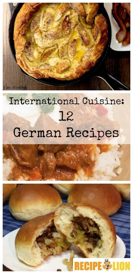 International Cuisine: 12 German Recipes - RecipeChatter