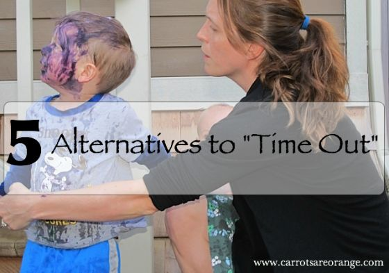 """5 Alternatives to the """"Time Out"""""""
