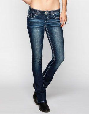 Denim Bootcut Jeans - Jon Jean