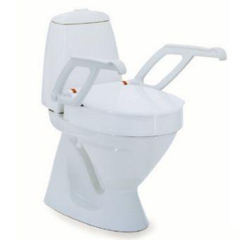 Voici le  Réhausse-WC AT90000 INVACARE® Aquatec  que vous trouverez au meilleur prix sur www.senup.com.     https://www.senup.com/rehausse-wc-invacare-aquatec-at90000-sans-accoudoirs-1622.html     Facilite le maintien et le transfert.  Lunette + couvercle.  Avec accoudoirs en option.  3 hauteurs fixes : 2 cm, 6 cm, 10 cm.  Qualité Invacare®.