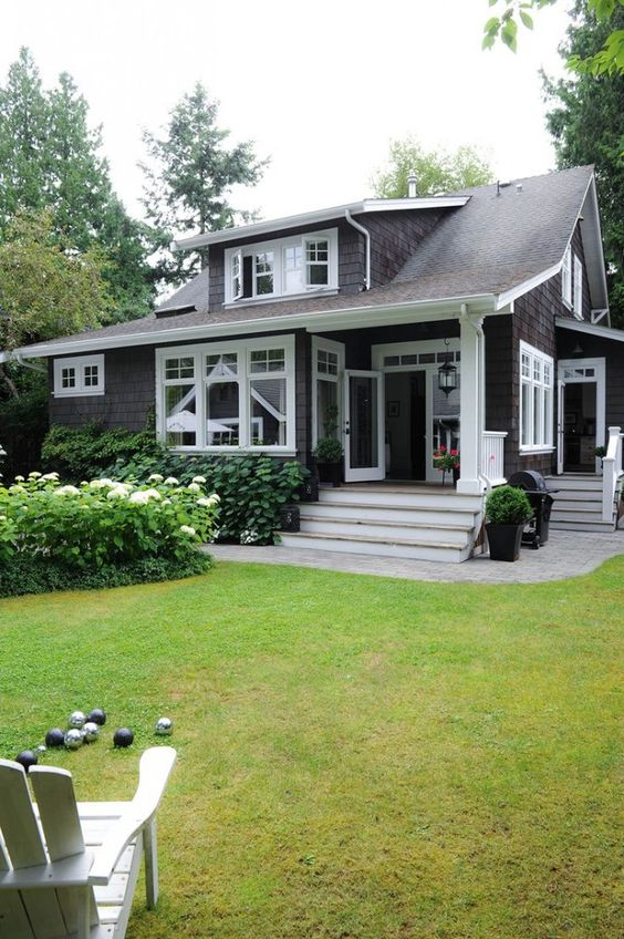 Home exteriors color combos and places on pinterest - Craftsman bungalow home exterior ...