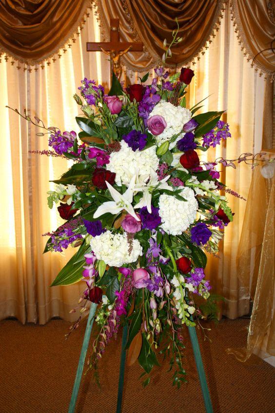 Unique Flower Arrangements For Tables Funeral Flower