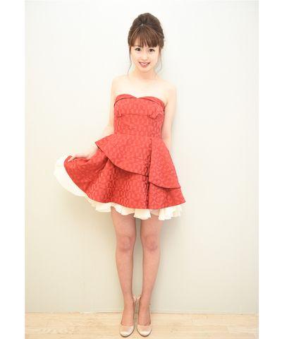 【Dress Stock】リリーブラウンドレス 結婚式、パーティー、二次会、にお呼ばれ