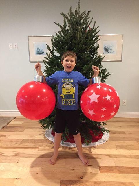 Diy Christmas Beach Ball Ornaments Diy Christmas Ball Christmas