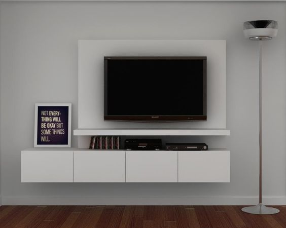 Mueble de Tv, Wall Unit  Paneles  Pinterest  Murals, TVs and Tv