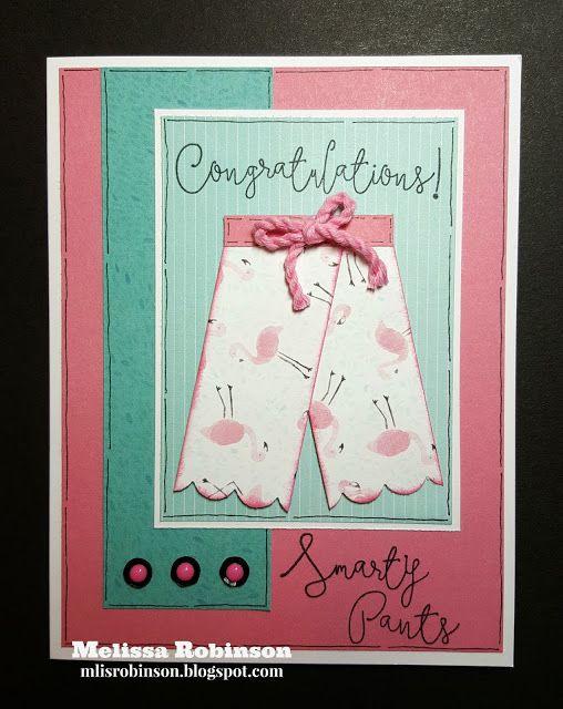 Congratulations Smarty Pants card. http://mlisrobinson.blogspot.com #ctmhsmartypants #ctmhmakeitfromyourheart #ctmhcalypso