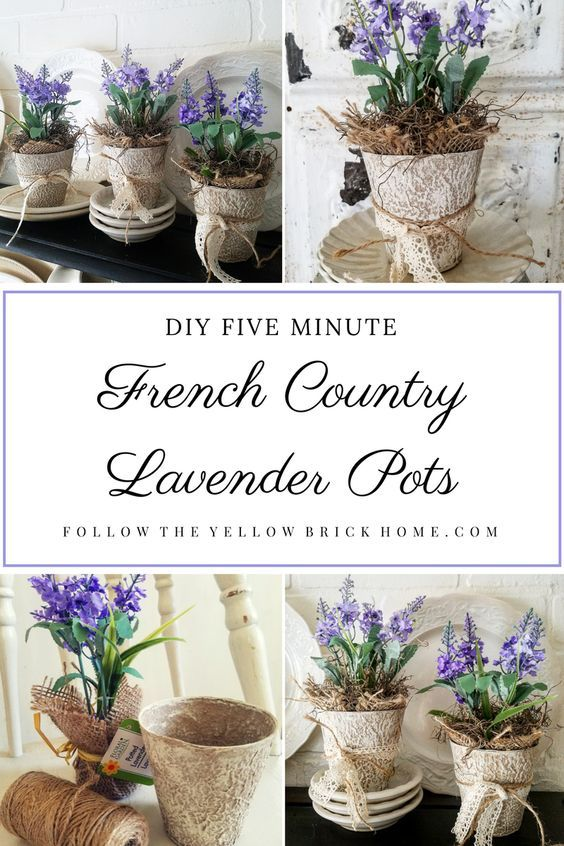 Cute French Country Yard Decor