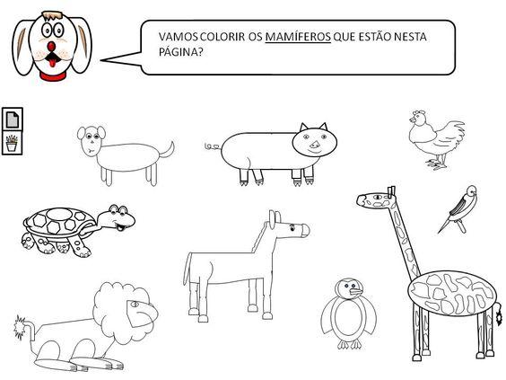 Festa Infantil Animais - AZ Dibujos para colorear