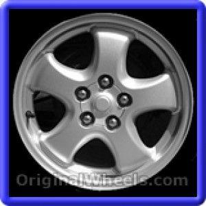 Ford Taurus 2003 Wheels & Rims Hollander #3583  #FordTaurus #Ford #Taurus #2003 #Wheels #Rims #Stock #Factory #Original #OEM #OE #Steel #Alloy #Used