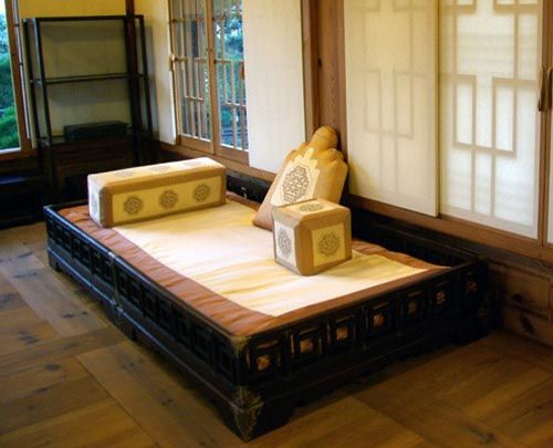 Pyung Sang Bed With Various Cushions On My Ideal Bed