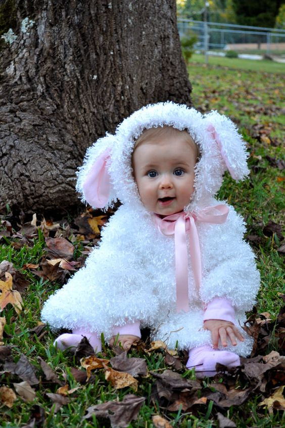 One Kind Handmade Unique Baby Toddler Lamb