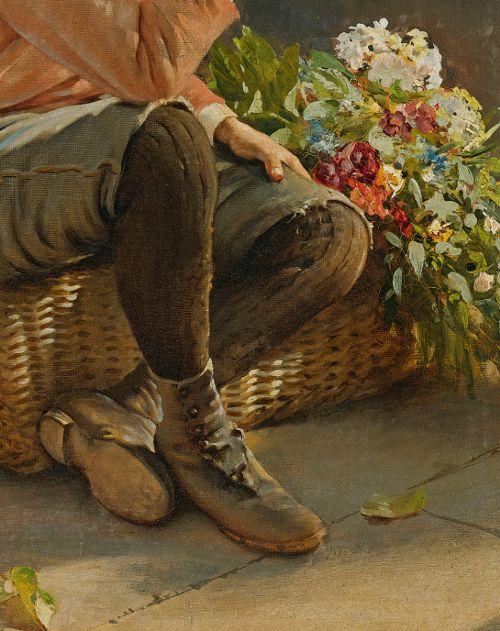 Guarding the Flower Basket, Karl Witkowski