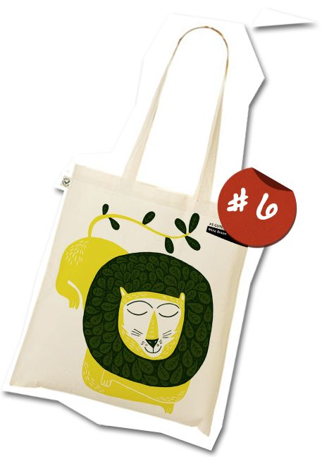 The GuteJute tote bag design #6
