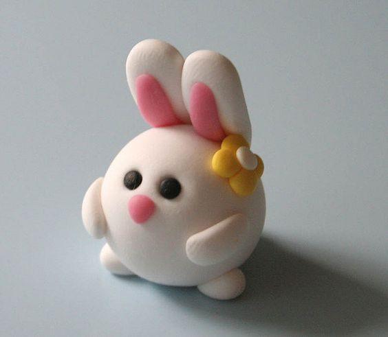 Cupcake Inspiration - Bunny Rabbit Shape Topper Ideas