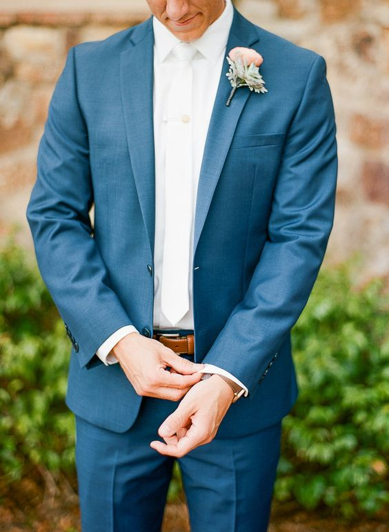 Photography: The Ganeys - undefined Florals: Lee James Floral - undefined Groomsmen ties: Express - undefined   Read More on SMP: /2017/07/26/high-school-sweethearts-tie-the-knot-at-italian-inspired-venue/
