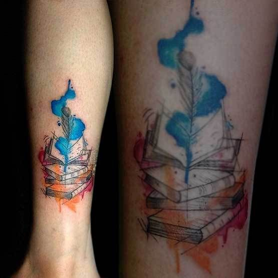 Watercolor Tattoos Fade And How Quick Watercolor Tattoo Fade