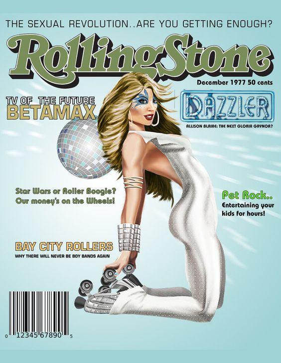Dazzler - Rolling Stone Cover - Rob van Overmeeren