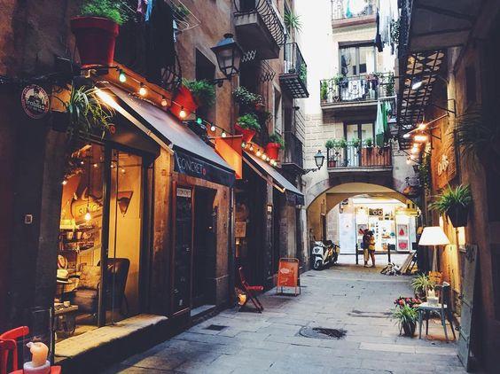 Shopping @ El Born - Barcelona, España
