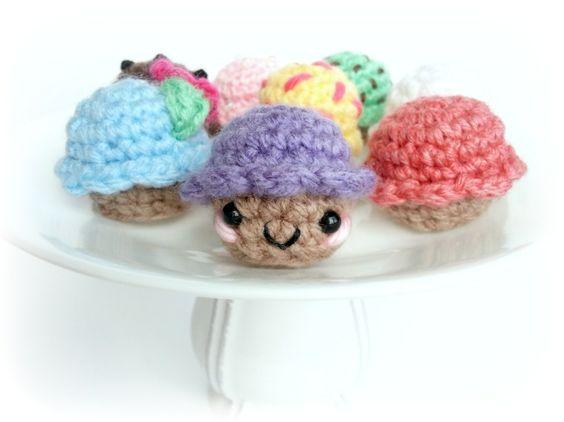Cupcake Amigurumi Patron Gratis : Cupcakes Amigurumi -Tutorial - Free Pattern Amigurumi ...