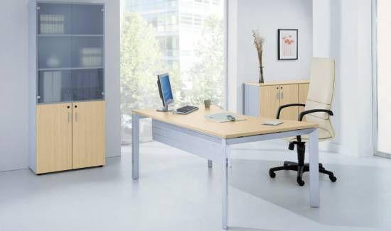 Poste de travail individuel table de travail bureau plan for Table de travail bureau