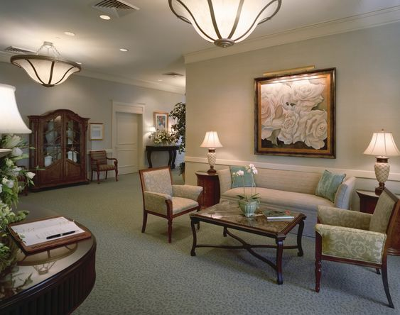 funeral home interior colors | Biggers Funeral Home | funeral home ...