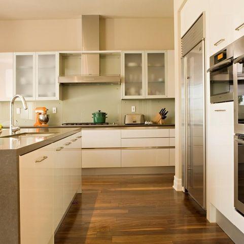 Wild rice caesarstone benchtop kitchen design ideas for Kitchen benchtop ideas
