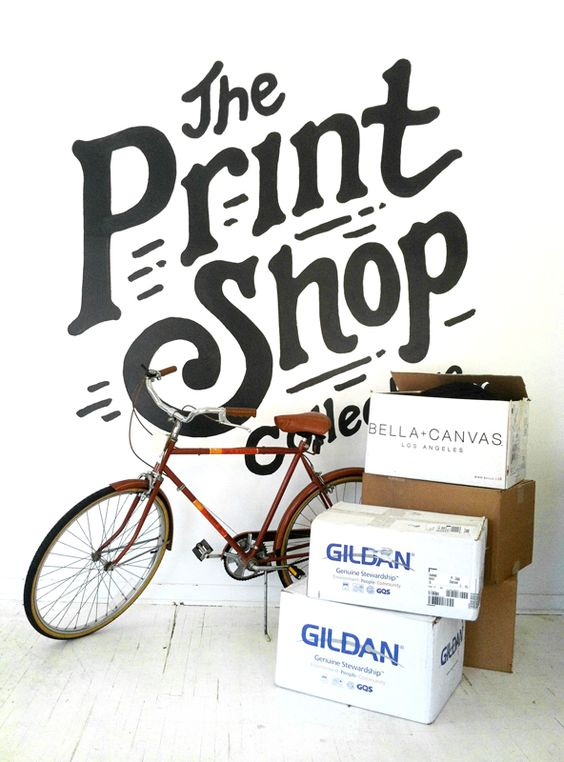 We deliver any size.  Little Mountain Print Shoppe is located inside of The Print Shop Collective building. Located in central Lincoln, Nebraska.